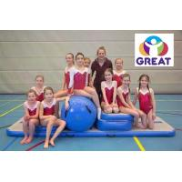 Quality high quality  fitness equipment Inflatable  Tumble Track for Gymnastics GT-GYMT-002 for sale