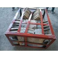Buy Cr27 Mill Liners , High Chrome White Iron Wear Resistance Hardness More Than HRC56 at wholesale prices
