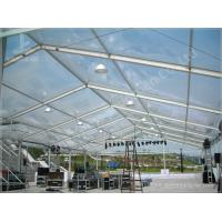 Quality Beautiful Transparent Luxury Wedding Tents For Hire Clear Span Fabric Structures for sale