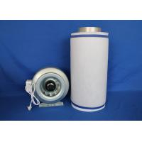 China Co2 Scrubbing 4 Inch Carbon Air Filter  ,  Odor Control Activated Carbon Air Cleaner on sale