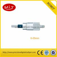 Quality CNC Machining Spherical Digital Outside Micrometer Head 0-25 mm With Scribed Line/Calibration of Micrometer for sale