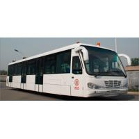 Buy Low Carbon Alloy Steel Body Airport Transfer Bus Airport Coaches 5100mm Wheel Base at wholesale prices
