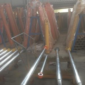 Quality DH55 arm hydraulic cylinder rod Doosan excavator parts single acting customize hydraulic cylinders piston rods for sale