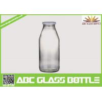 Buy Decored beverage juice water milk 1liter glass bottle with hermetic lid at wholesale prices