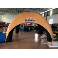 Quality Advertising Exhibition Inflatable Event Shelter , 5 X 5m Blow Up Event Shelter Wind Resistant for sale
