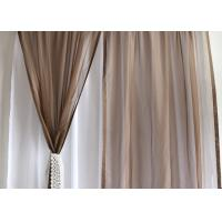 Quality Soft / Lightweight Fabric Dining Room Curtains 100% Polyester Dry Clean Only for sale