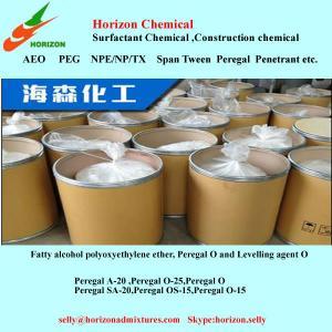 Quality fatty alcohol-polyoxyethylene ethers/Peregal  O-9/A-20 for sale