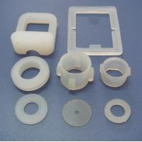 Quality Colorful Custom Silicone Parts With Molded / Injection / Transfer Processing for sale