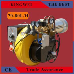 China kingwei brand big power 1000kw 70-80L/H waste vegetable oil burner on sale