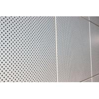 Quality Exterior Wall Decoration Perforated Aluminum Wall Panels For Building Wall Material for sale