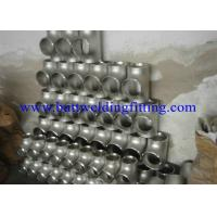 Quality Seamless Equal Tee Stainless Steel Tee ASME B16.9 A403 WP304L / TP316L for sale