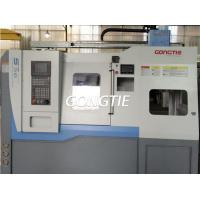Quality CNC lathe with station rotary stocker for sale