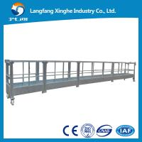China aluminum/hot galvanizing steel cradle/ mast climbing work platform/suspended platform on sale