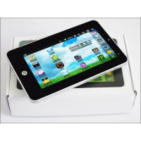 China small 7 inch touch screen tft lcd google android 2.2 tablet pc with External Flash 32GB on sale
