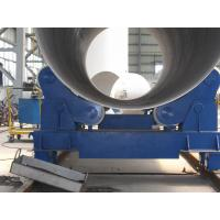 Quality 20T Self Aligning Pipe Welding Rollers Hydraulic Bending Machine With Moving Wheels for sale