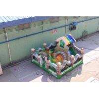 Quality Garden House Inflatable Playland Fun City for sale