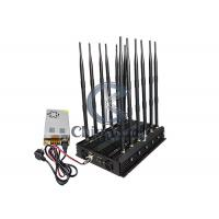 China 12 Antenans GPS Signal Jammer Used In Car DC12V Mobile Phone WIFI LOJACK Signal Blocker on sale