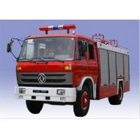 China Red Color Fire Fighting Truck 5000 Liter Water And 1500 Liter Foam With High Pressure Pump on sale