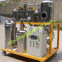 Quality stainless steel used frying oil cleaning machine, used oil filtering equipment,cooking oil purifier for sale