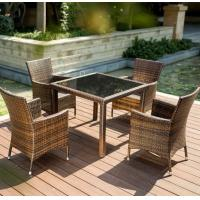 Hotel Furniture PE Rattan chair Outdoor garden wicker chairs and table for sale