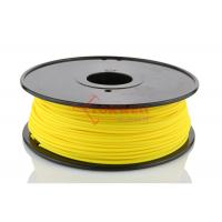 Quality Yellow Color 3mm 3D Printer PLA Filament For Solidoodle / Afinia 3D Printer for sale