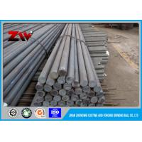China Heat treated grinding rods for rod mill , Dia 30 mm - 140mm low carbon alloy steel rod for sale