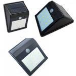 Solar Wall Light 25 LED Solar Garden Lights Decorative Fence Radar Sensor Motion
