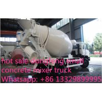 Buy dongfeng 153 190hp 6cbm 4*2 small concrete mixer truck for sale at wholesale prices