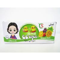 Quality 14.4g Mixed flavor powder CC stick candy in box / mixed fruit sweet HACCP,ISO22000 for sale