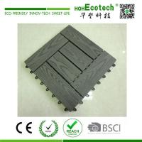 China Fashion style external wpc deck tile on sale