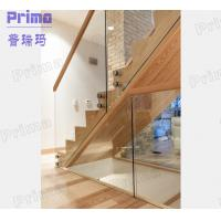 Quality stainless steel standoff glass railings bracket for indoor staircase for sale