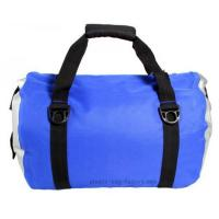 Quality Blue Roll Top Waterproof Sports Bag 0.5mm Thickness With Shoulder Straps for sale