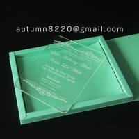 Quality B IC (9) plastic scrolls for invitations for sale