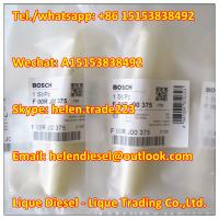 Quality Bosch original injector valve F00RJ00375 , F 00R J00 375 for 0445120006 / 0 445 120 006 genuine and new for sale