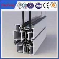 Quality aluminium profiles for sliding windows and doors, profiles aluminum extrusion price for sale