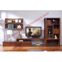 Quality Classic Design Solid Wood Material TV Stand for Wall Unit in Living Room Furniture for sale