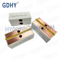 Quality Water Cooled Resonant Film Capacitor C41 0.66uF High Frequency Power for sale