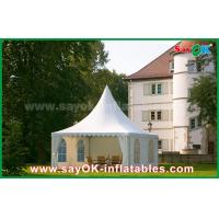 Quality Waterproof 10x10 Aluminum PVC Folding Tent China 10x10 Pagoda Tent for sale