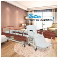 Quality Wooden Headboard Reclining Hospital Bed For Patient 2080*960*540mm for sale