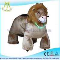Quality Hansel stuffed animals with wheel coin toys motorized plush riding animals for sale