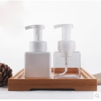 Quality Empty 50ml 60ml 100ml 150ml 500ml clear PET plastic bottle with Flip Caps for hand sanitizer for sale