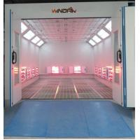 China Short Wave Infrared Lamp Heating Side Draft Paint Booth For 4S Shop on sale