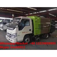 Factory sale good price 2018s new design forland 4*2 LHD diesel street sweeping truck for sale, road sweeper truck for sale