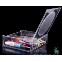 Quality clear acrylic makeup display organizer for sale