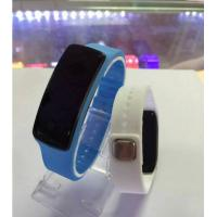 Quality Plastic Case LED Digital Wrist Watch With Magnet Buckle Sport Bracelet for sale