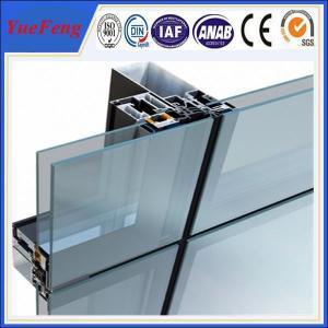 Buy aluminium curtain wall profiles supplier, aluminium extrusion for glass curtain at wholesale prices