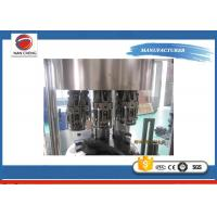 Quality Small Scale Fruit Juice Filling Machine Production Line , Electric Beverage Bottling Equipment for sale