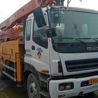 Quality 6*4 LHD Drive Mode Used Concrete Pump Truck Isuzu-Putzmeister Brand for sale