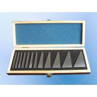 Quality Precision Angle Gauge Blocks 12 PCS 1/4° - 30° Well Grounded Lightly Magnetized for sale