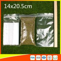 Quality LDPE Packing Zip Lock Bags Grip Seal Bag  Reclosable Bag For Storage for sale